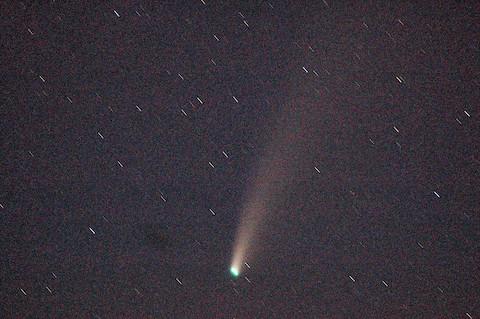 Comet C/2020 F3 NEOWISE (20 sec)