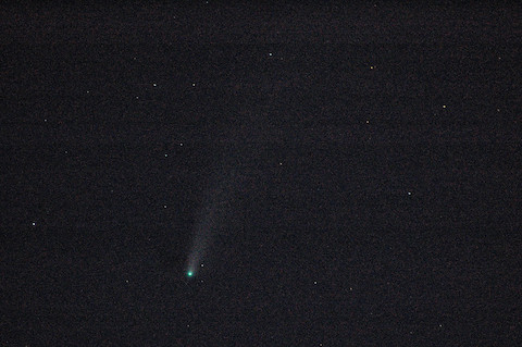 Comet NEOWISE (4 sec)