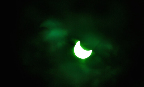 Partial Solar Eclipse-kd0vhd