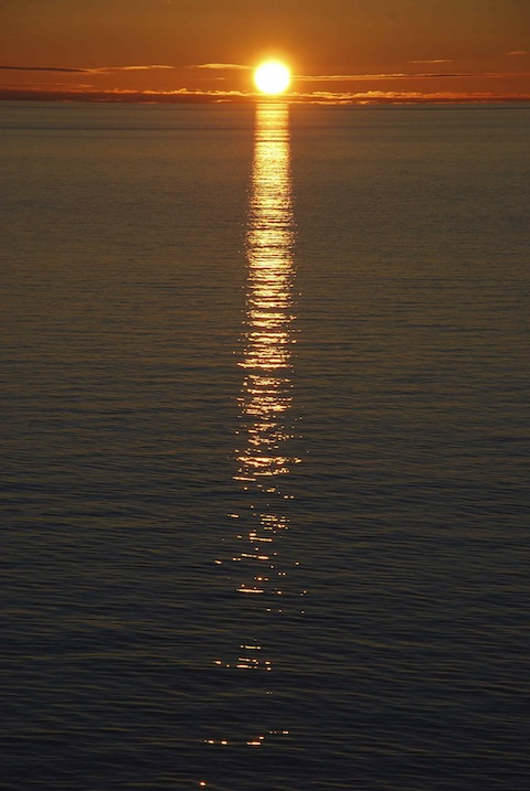 sunset inner passage